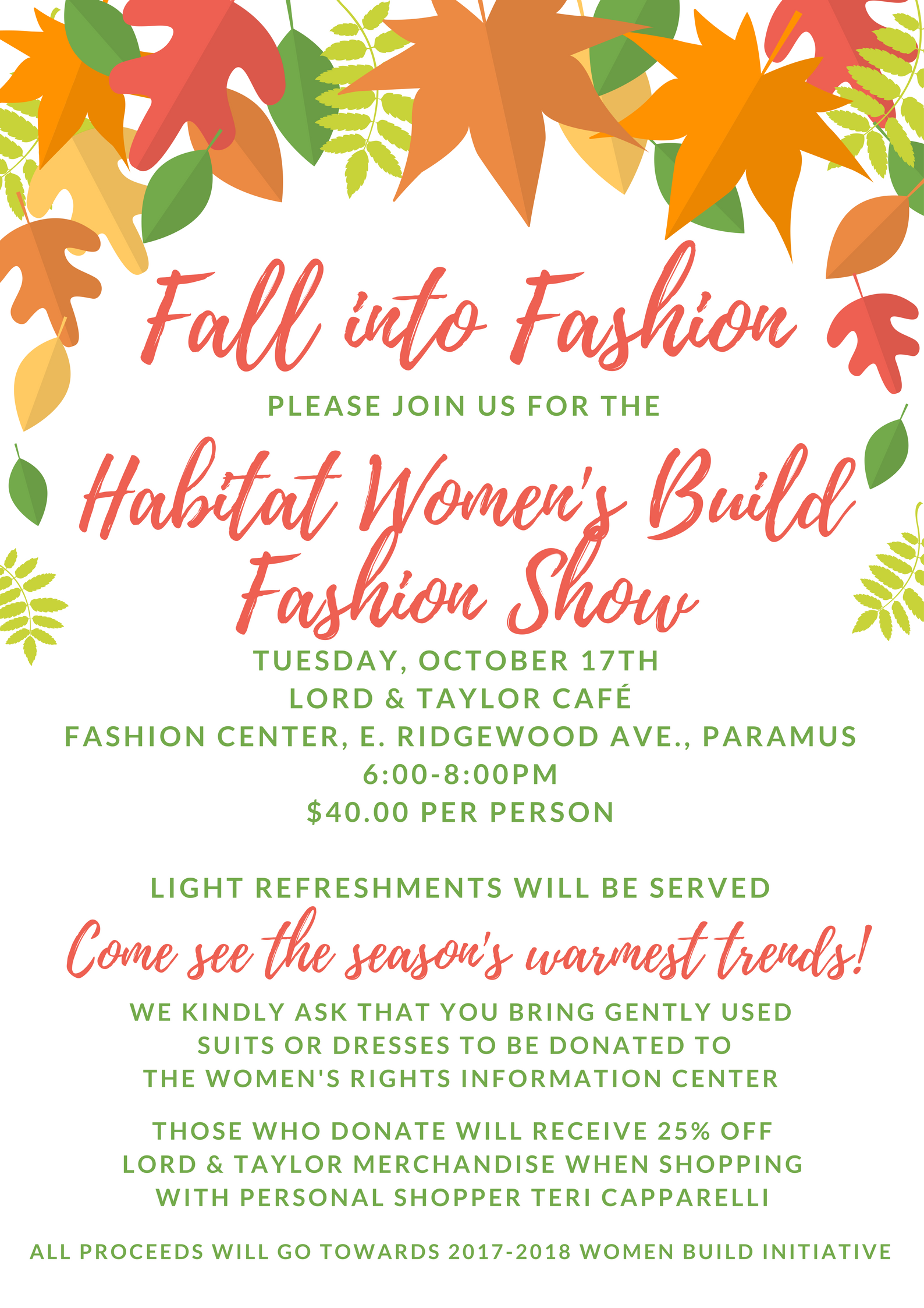 HABITAT WOMEN\'S BUILD FASHION SHOW | Habitat for Humanity of ...