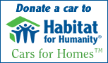Consider a Donation of a Vehicle to Habitat for Humanity
